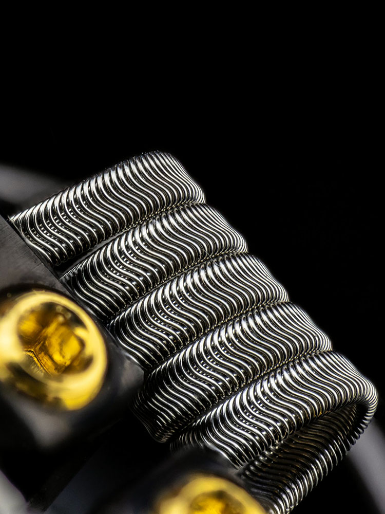 ALIEN FRAMED STAPLE COILS BY COILTURD