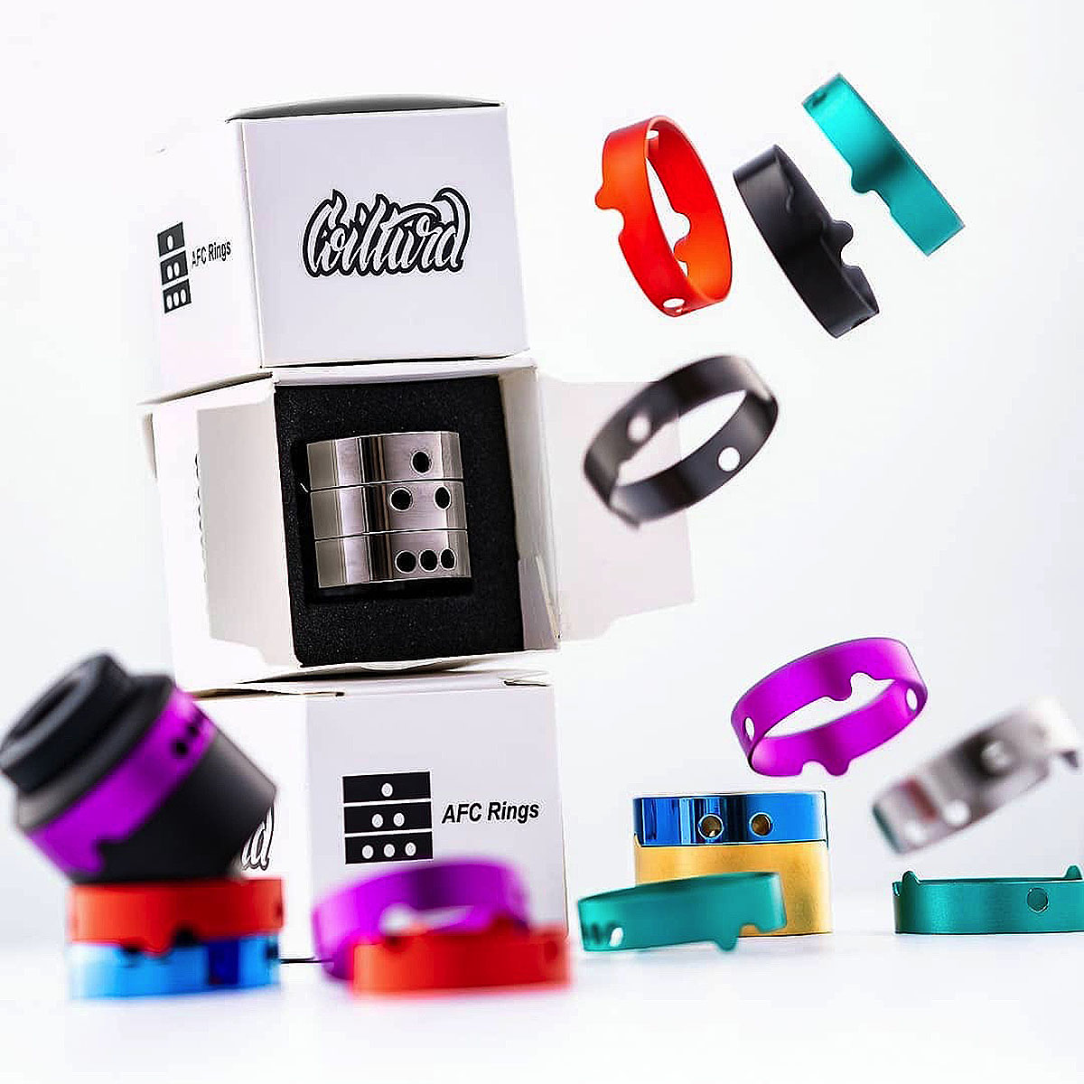 AN RDA FOR VAPING AFC RING SET BY COILTURD