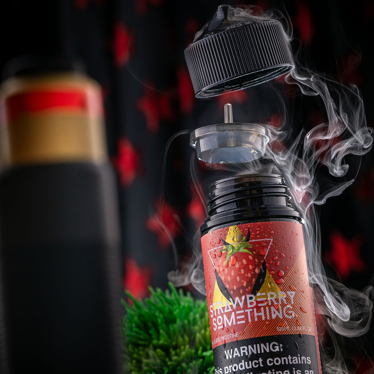 STRAWBERRY SOMETHING SHORTFILL BY COILTURD X VINYL & VAPOR