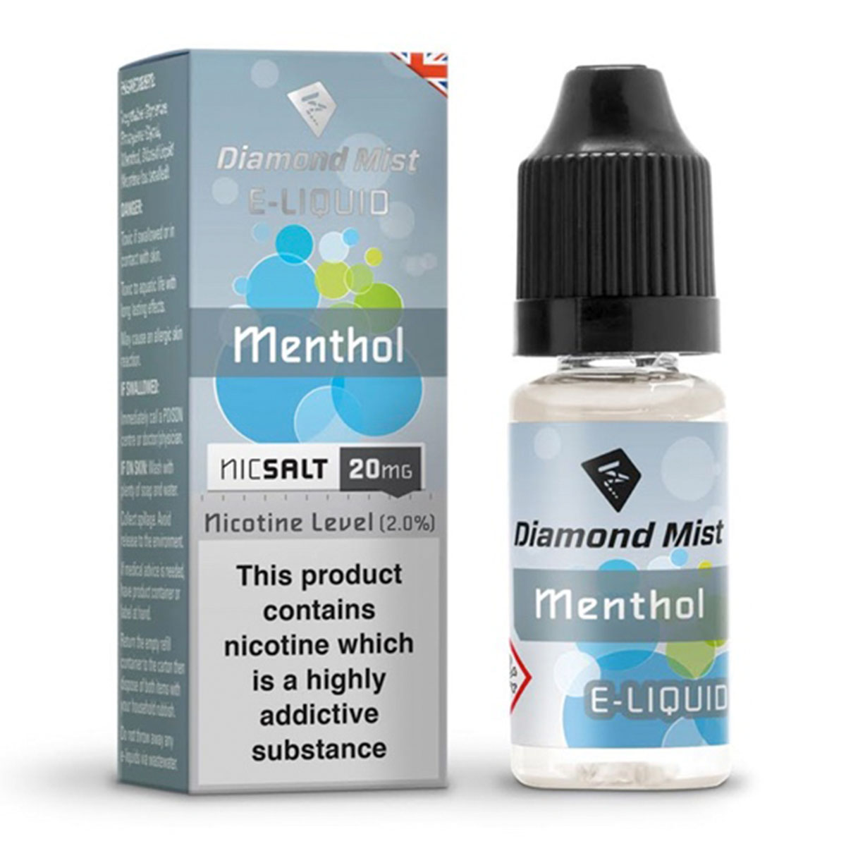MENTHOL NIC SALT BY DIAMOND MIST