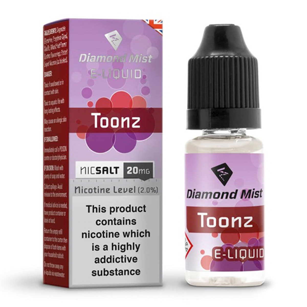 TOONZ NIC SALT BY DIAMOND MIST