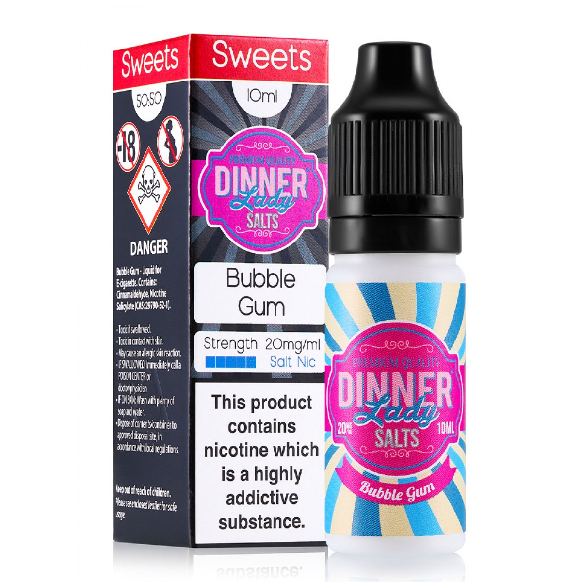 BUBBLE GUM BY DINNER LADY SALTS