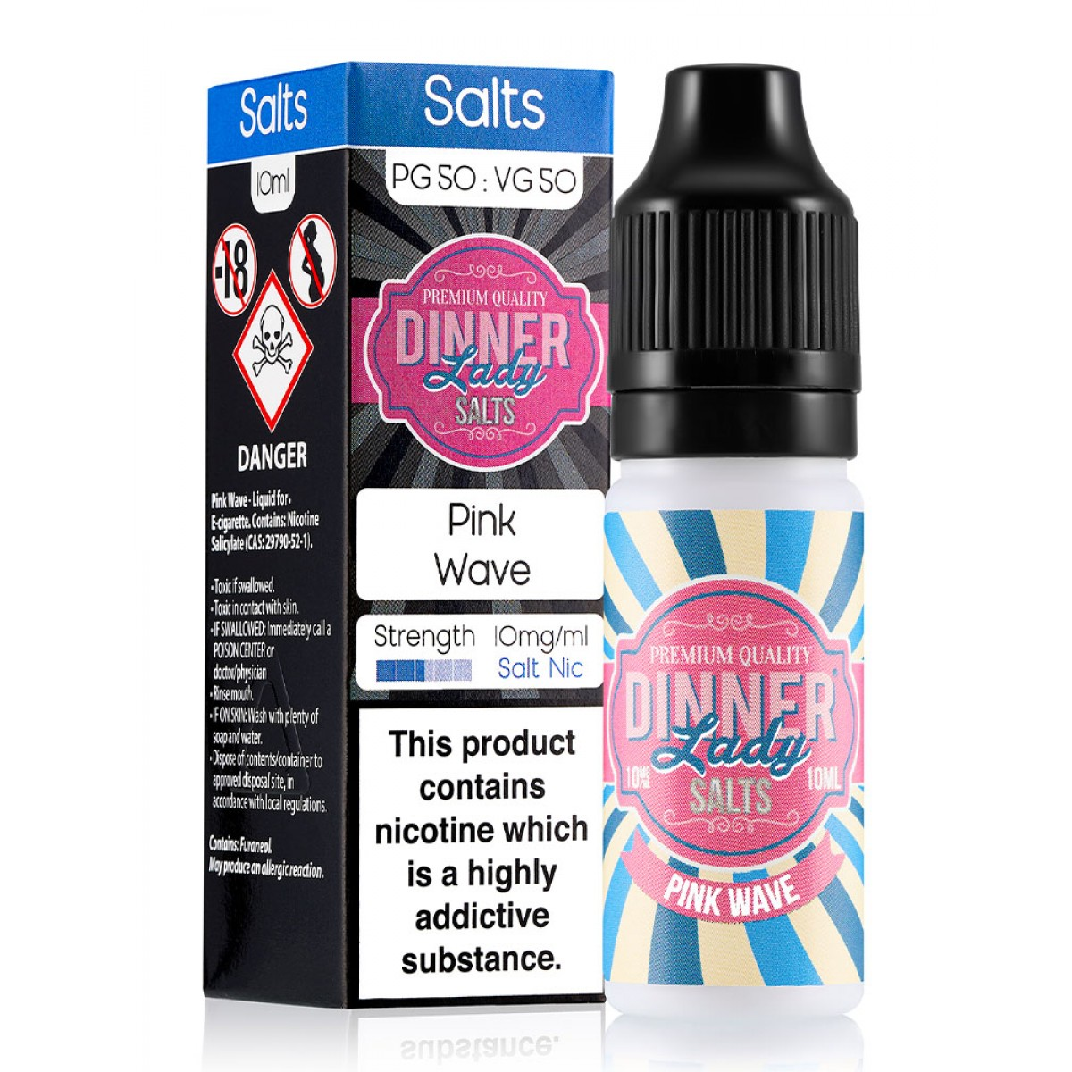 PINK WAVE BY DINNER LADY SALTS