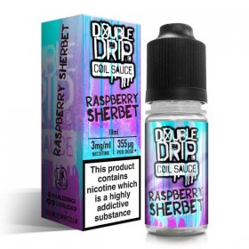 RASPBERRY SHERBET BY DOUBLE DRIP