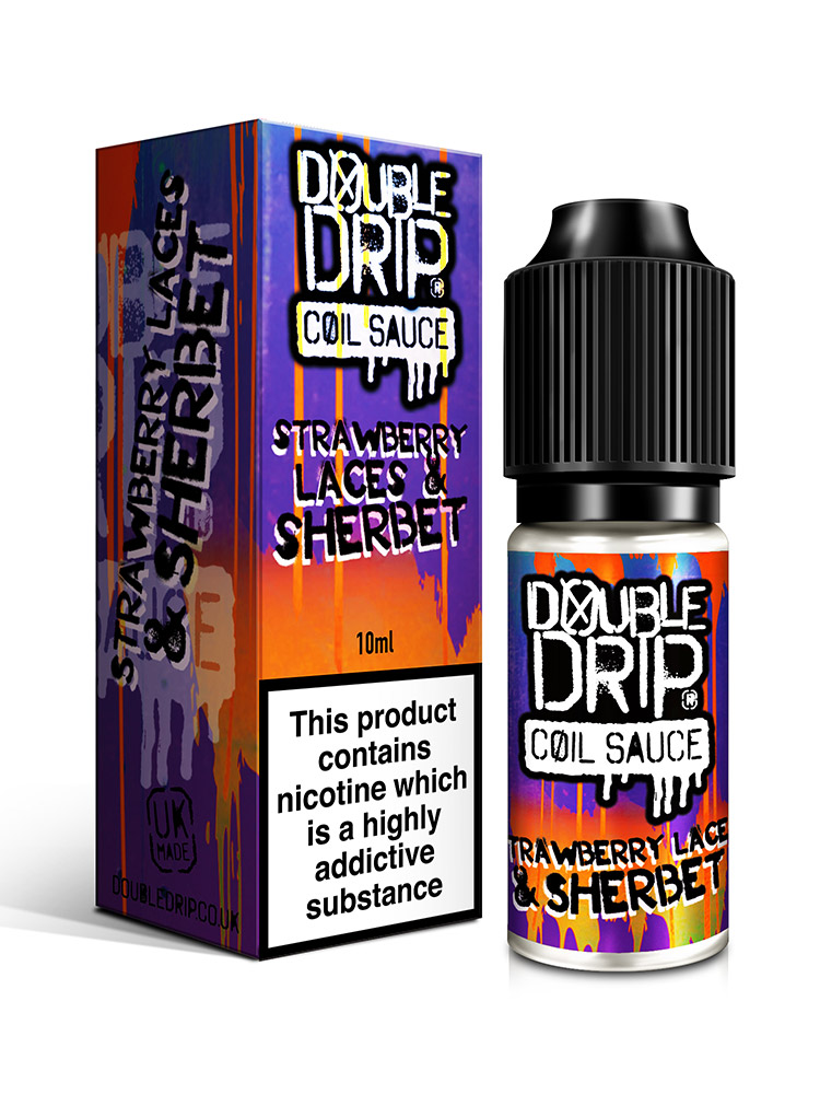 STRAWBERRY LACES & SHERBET BY DOUBLE DRIP