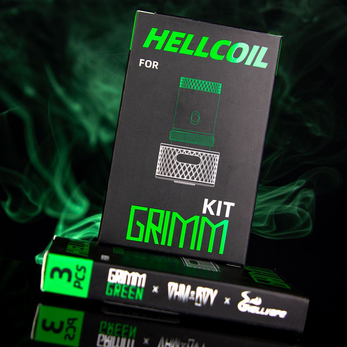 GRIMM KIT COIL HEADS BY GRIMM X OHMBOY