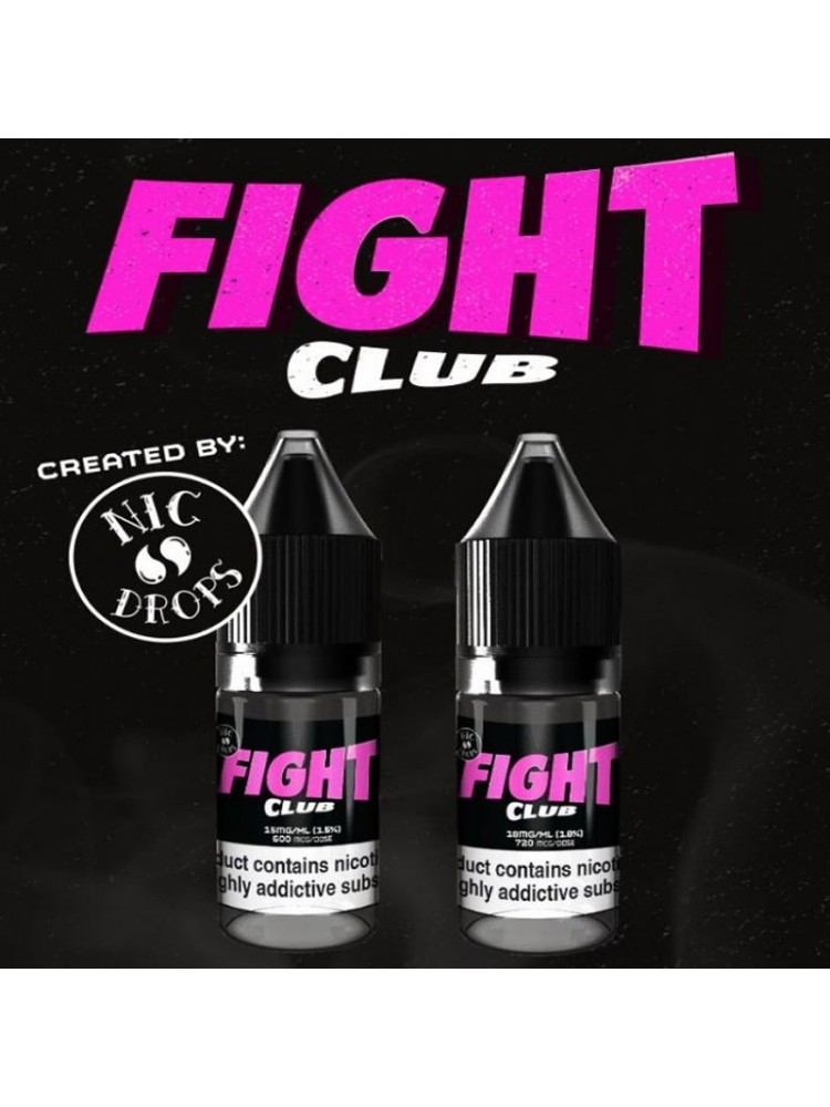 FIGHT CLUB NICOTINE SHOT BY NIC DROPS