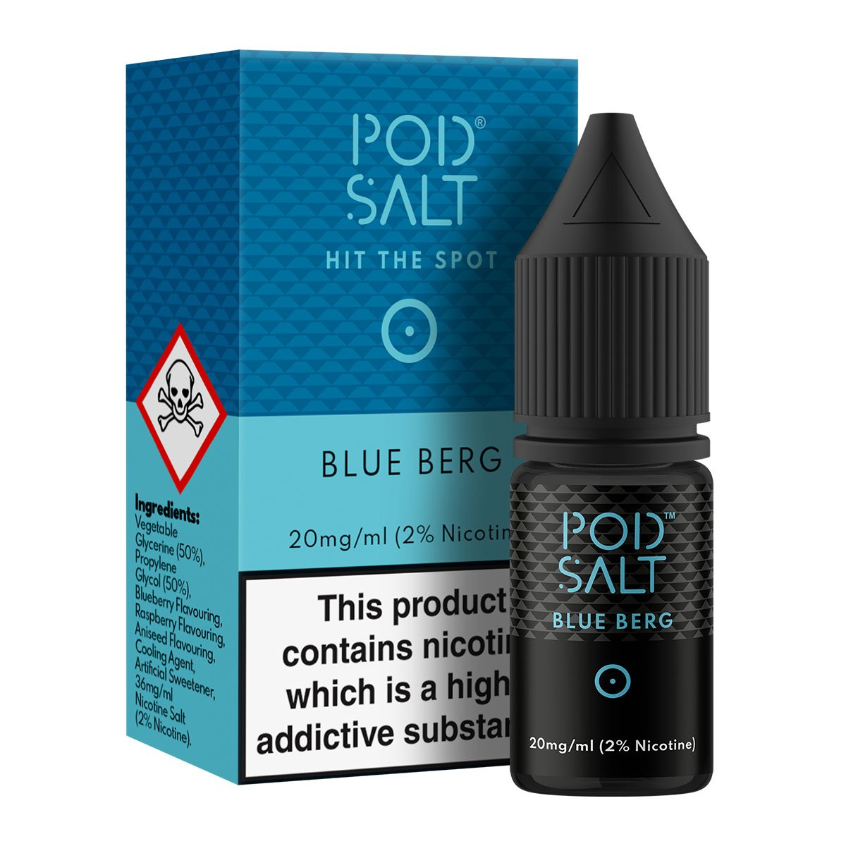 BLUE BERG BY POD SALT CORE