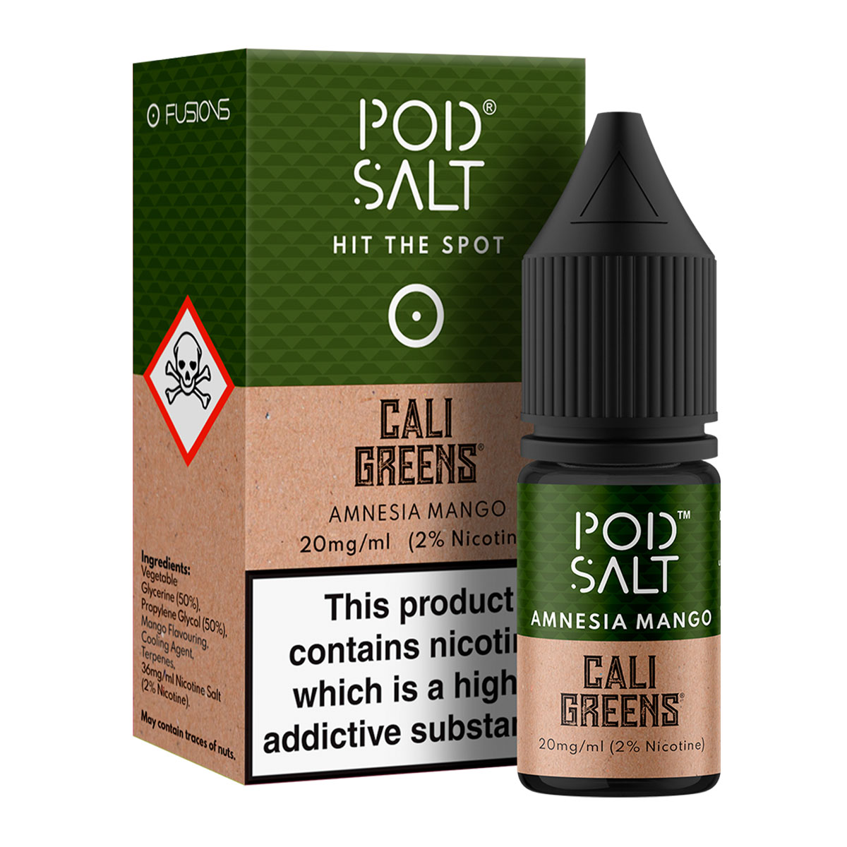 AMNESIA MANGO - CALI GREENS BY POD SALT