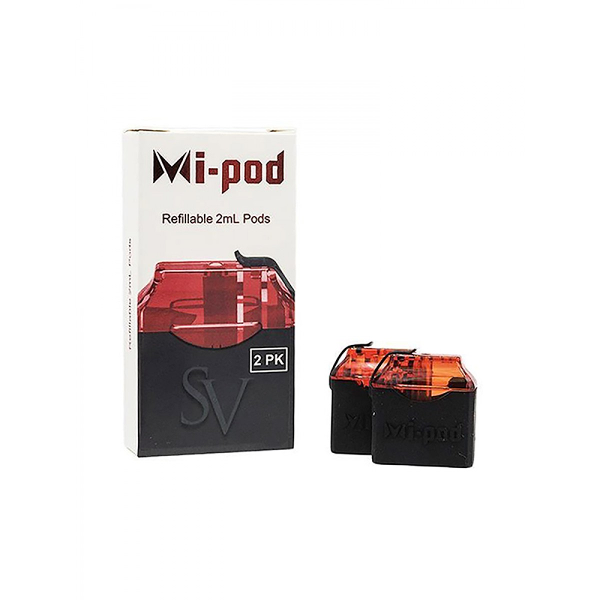 MI-POD RED REFILLABLE PODS BY SMOKING VAPOR