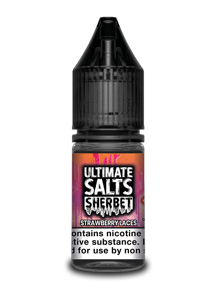 STRAWBERRY LACES BY ULTIMATE SALTS SHERBET
