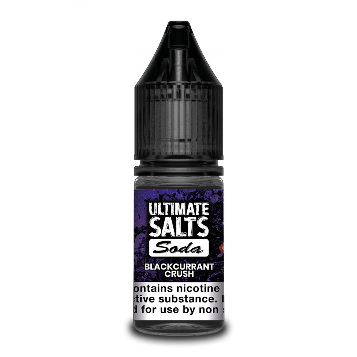 BLACKCURRANT CRUSH BY ULTIMATE SALTS SODA